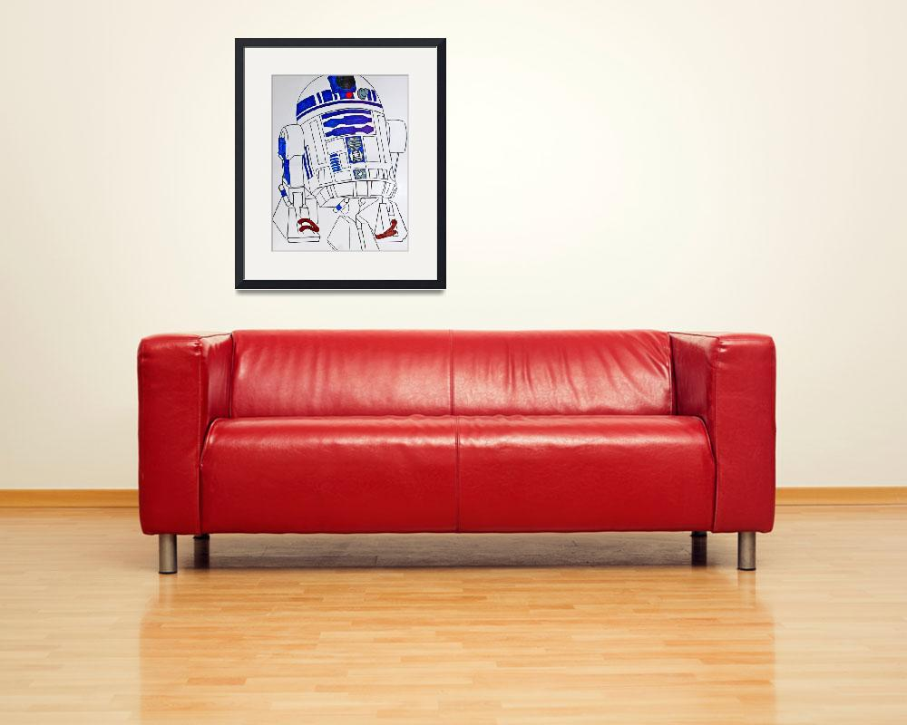 """R2D2&quot  (2014) by yourhumbleservant"