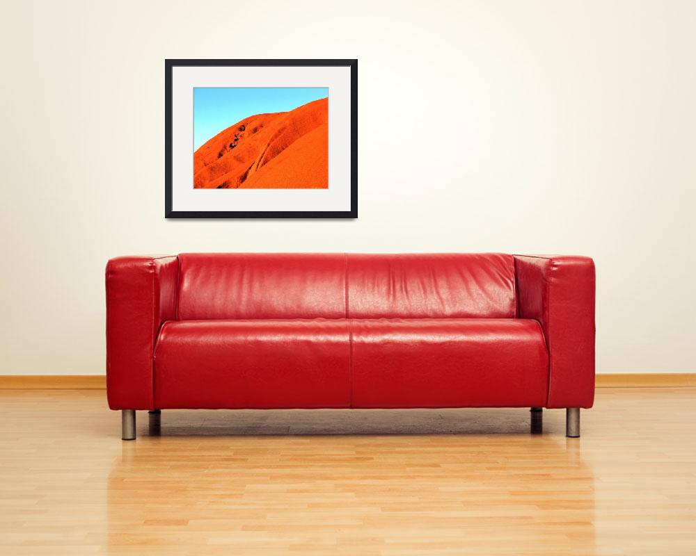 """Australia, Ayers Rock&quot  by snaptherapy"