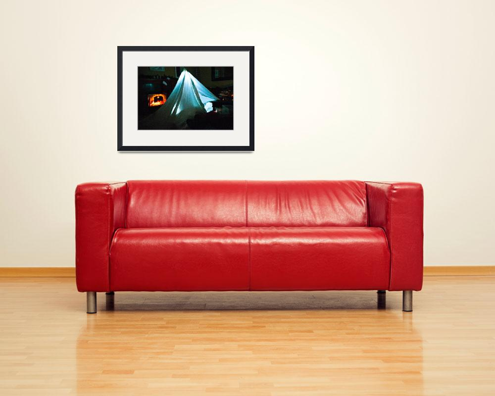 """Living Room Camping&quot  (2012) by carlnelson"