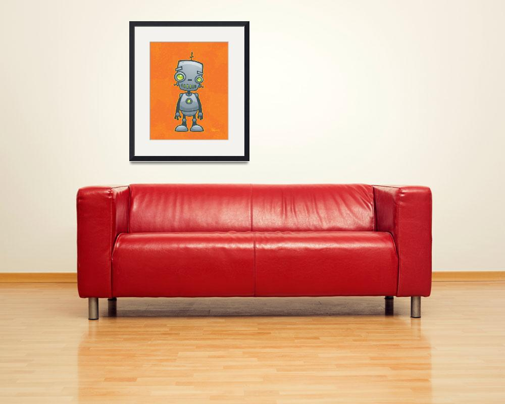 """Silly Robot&quot  (2011) by schwegel"