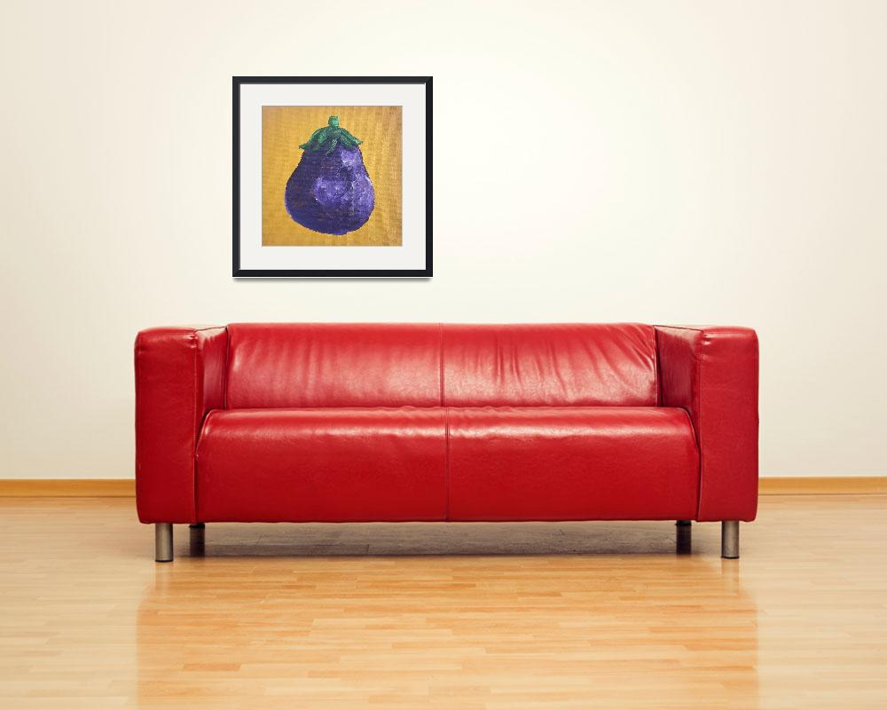 """Small Eggplant&quot  (2011) by arteest"