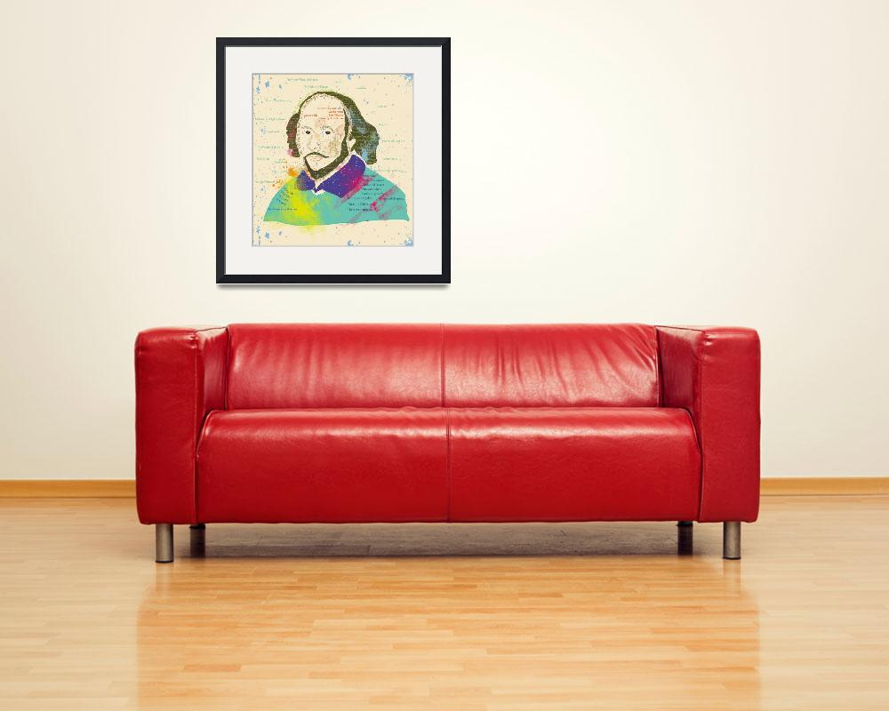 """Portrait of Shakespeare&quot  (2013) by famenxt"