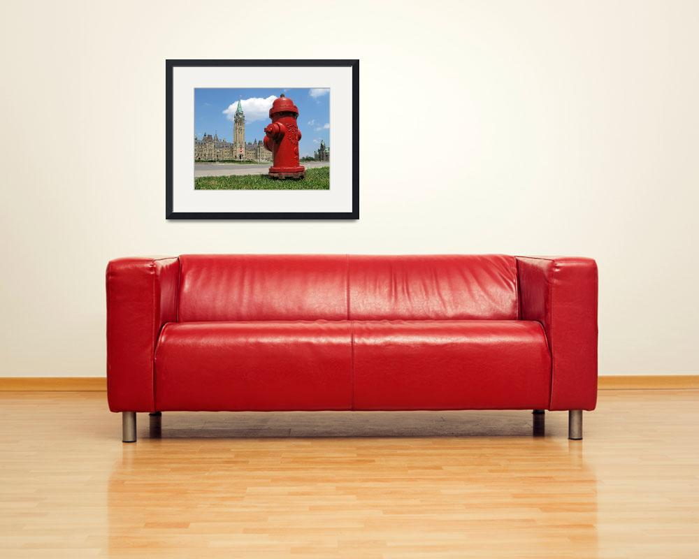 """Fire Hydrant on the Parliament Hill&quot  (2007) by andreifilippov"