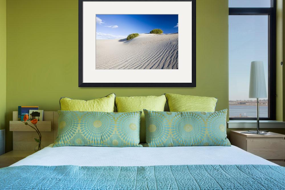 """Death Valley Sand Dunes&quot  (2006) by stevegeer"