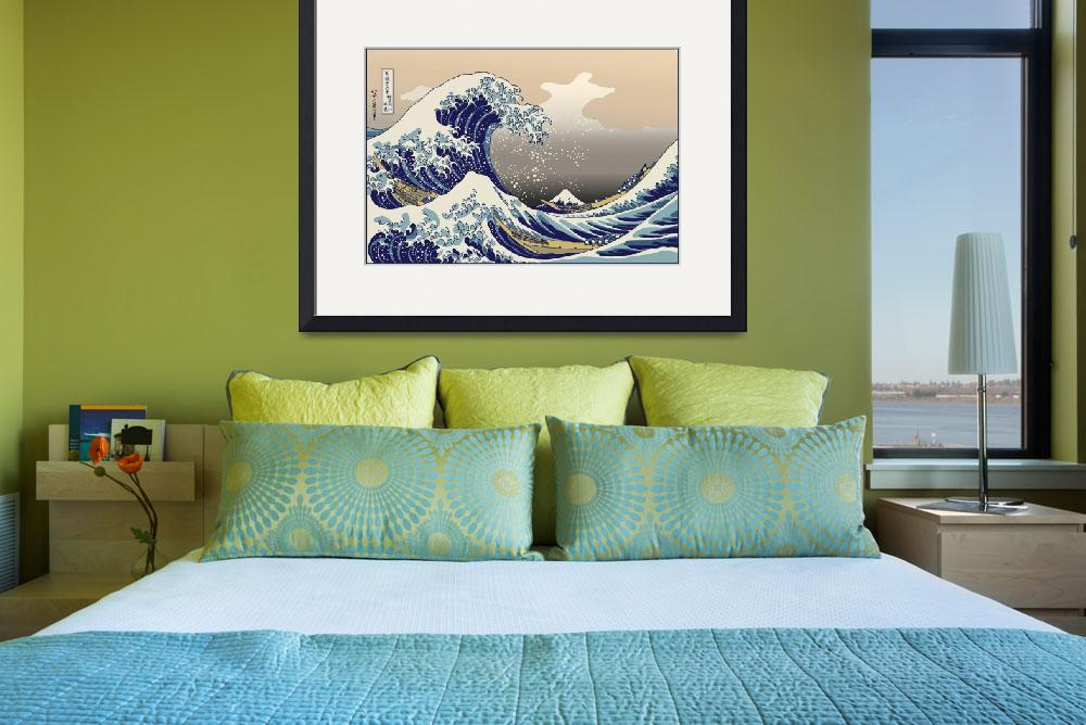 """Hokusai The Great Wave off Kanagawa&quot  by oldies"
