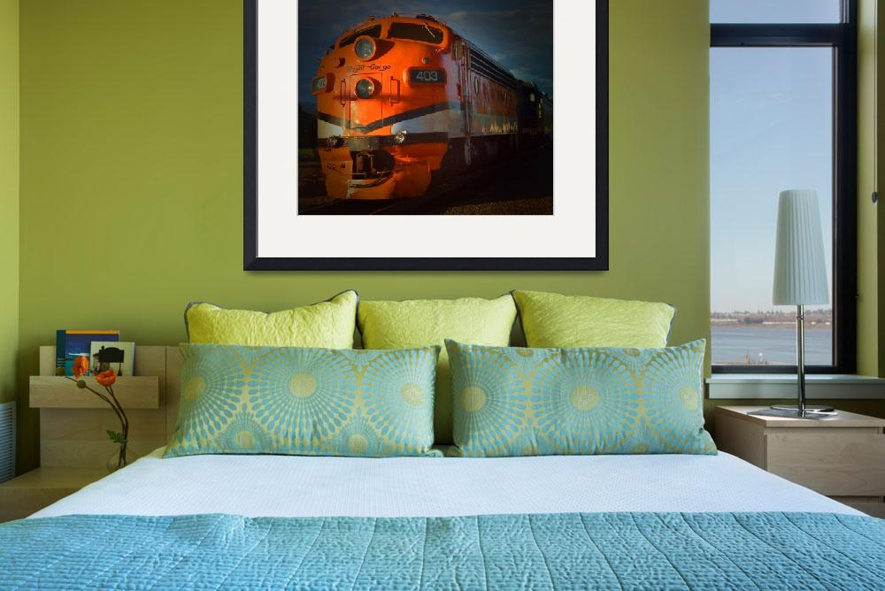 """Gorge Train&quot  (2012) by artstoreroom"