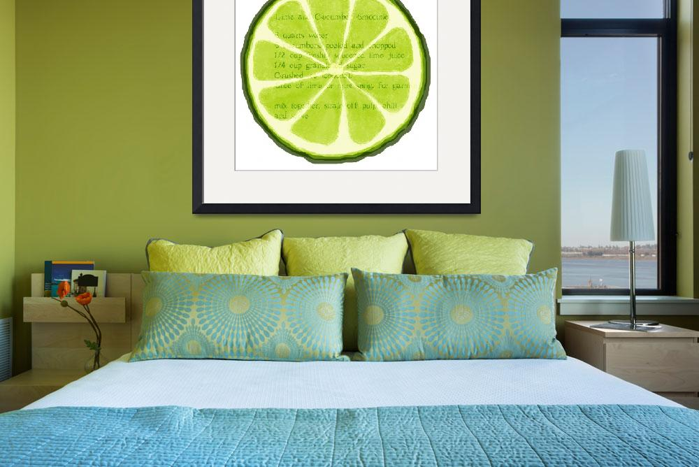 """Lime&quot  (2013) by lucylane"