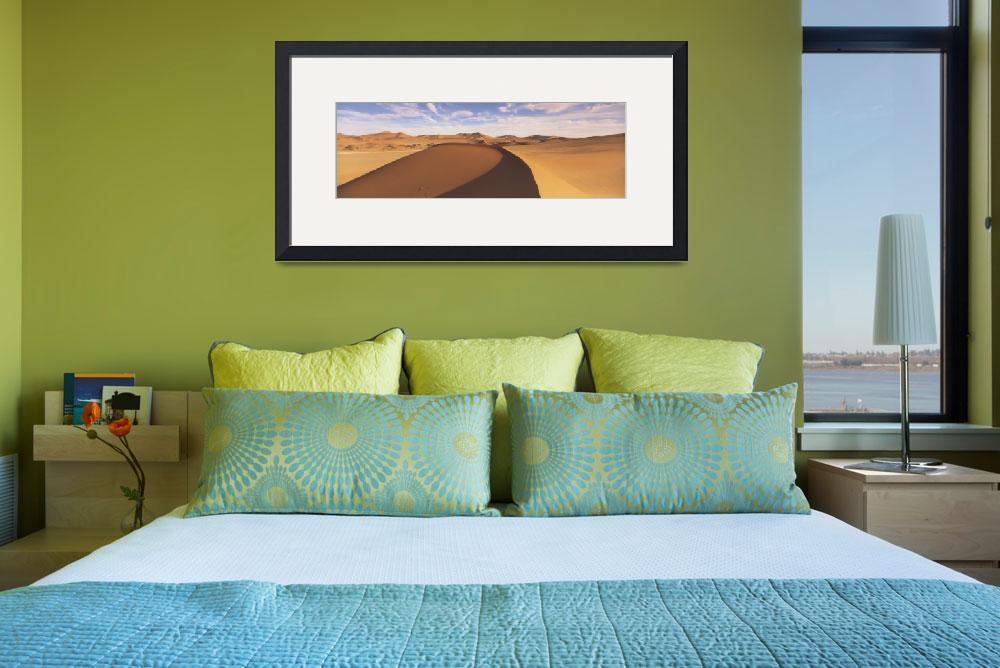 """Sand dunes in an arid landscape&quot  by Panoramic_Images"