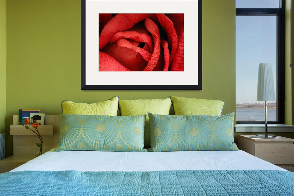 """Valentine: Red Paper Rose&quot  (2004) by WilshireImages"
