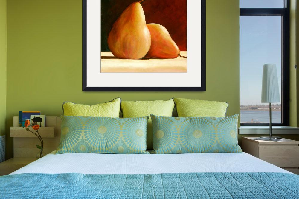 """PAIR OF PEARS&quot  (2008) by ToniGrote"