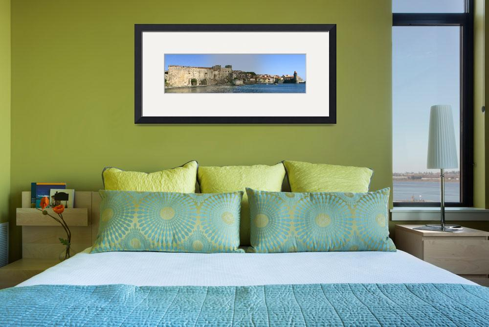 """Chateau Royal, Collioure, France.&quot  (2010) by Snowman"