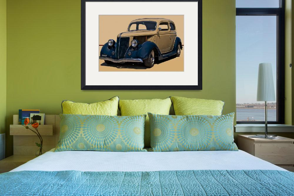 """1936 Ford Tudor Sedan&quot  by FatKatPhotography"