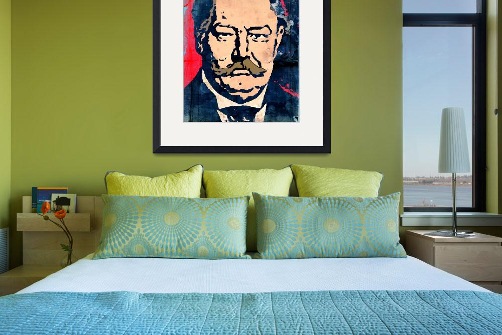 """William Howard Taft-27th President (Color) 2&quot  (2014) by thegriffinpassant"