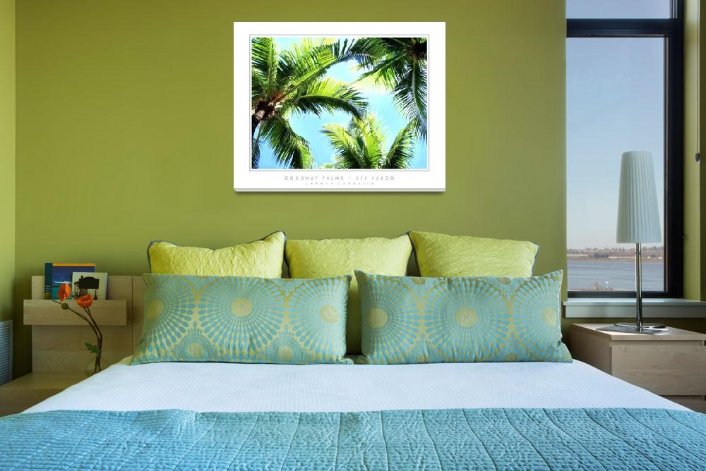 """Coconut Palms - Key Largo, FL&quot  by CCordelia"