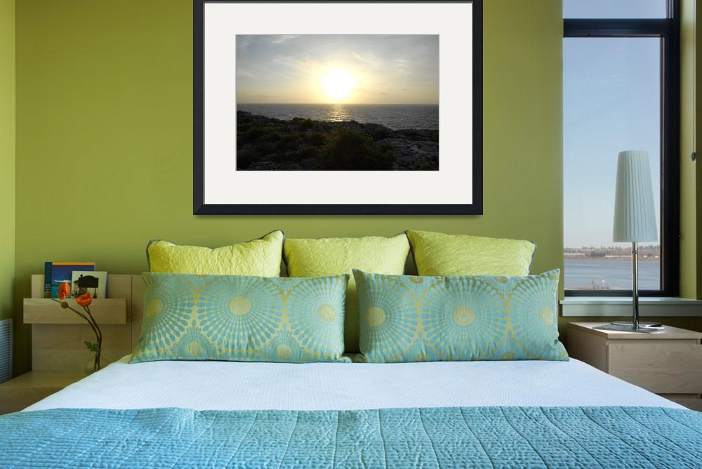 """Cayman Brac: Sunrise at the Bluff&quot  by RonScott"