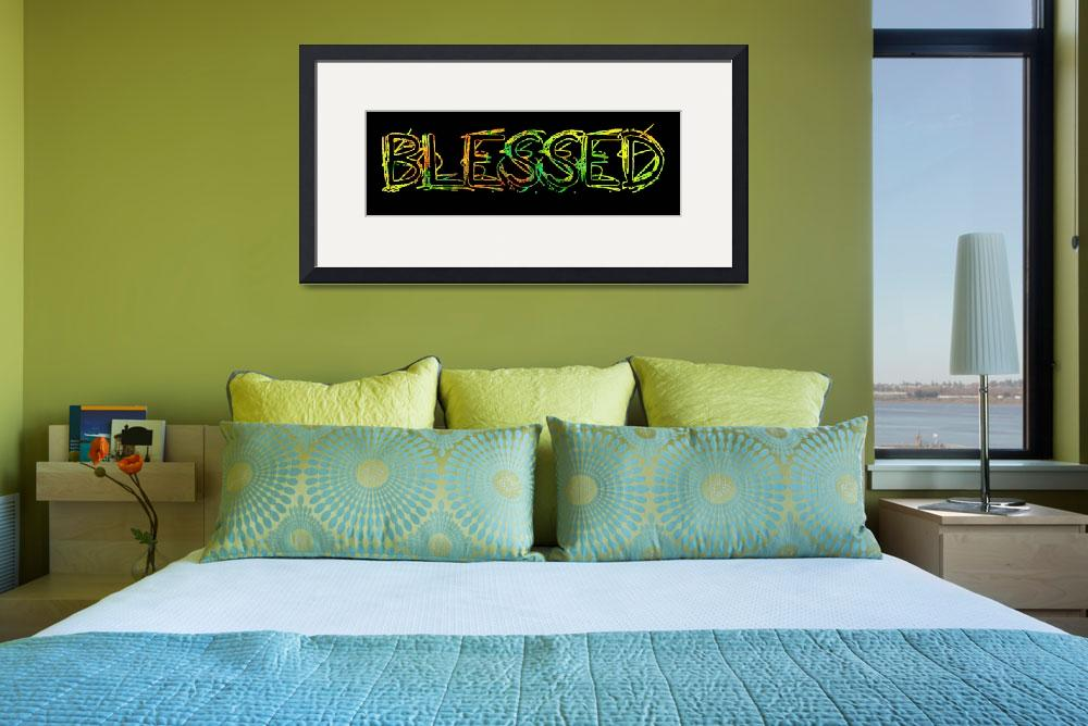 """blessed grunge outline bright colors&quot  by lizmix"