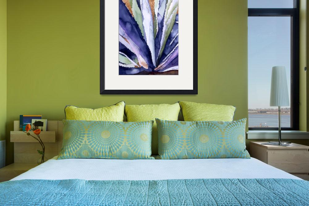 """Agave 3&quot  (2008) by art4fish"