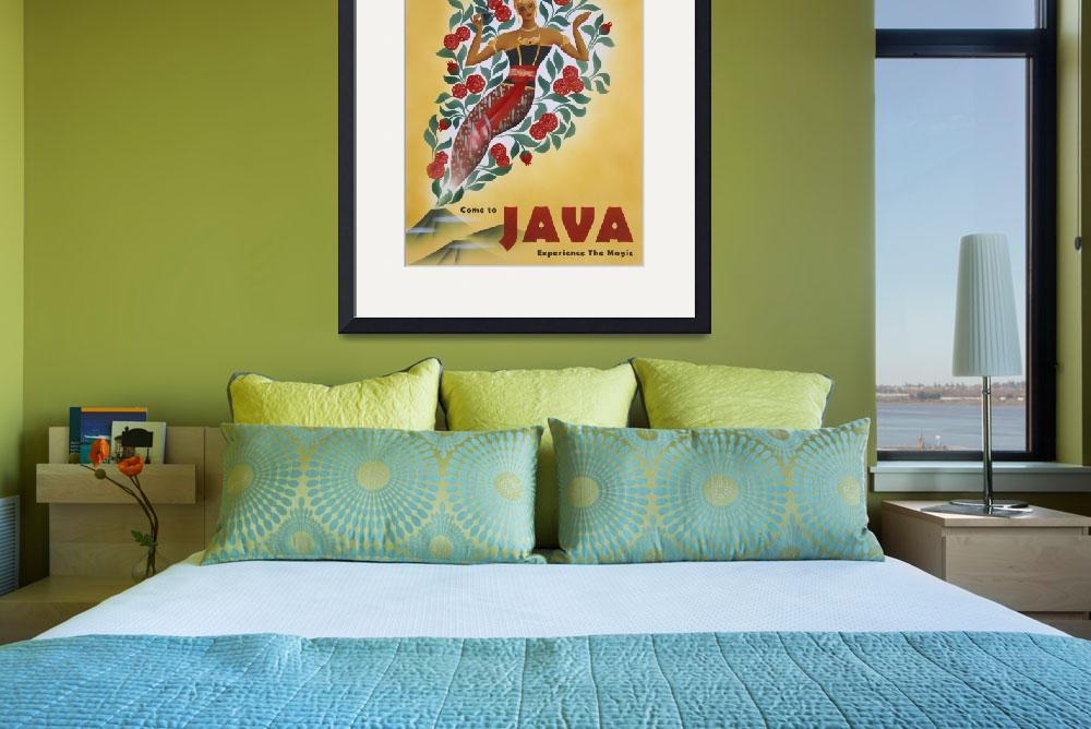 """Come to Java&quot  (2001) by cocomasuda"