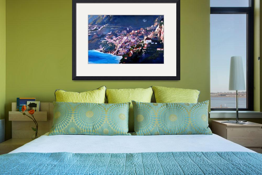 """Magic Coastline and Scenery in Amalfi Italia&quot  (2014) by arthop77"