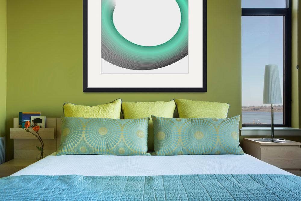"""Enso Wave&quot  (2016) by ModerneDesigns"