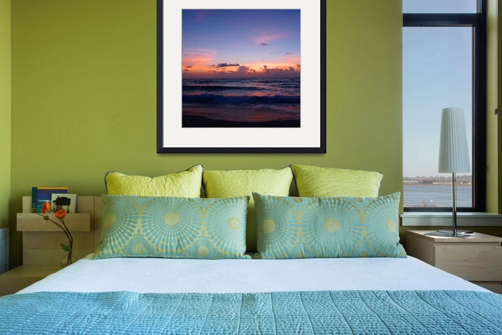 """Tropical Dawn Seascape 3B&quot  (2015) by Ricardos"