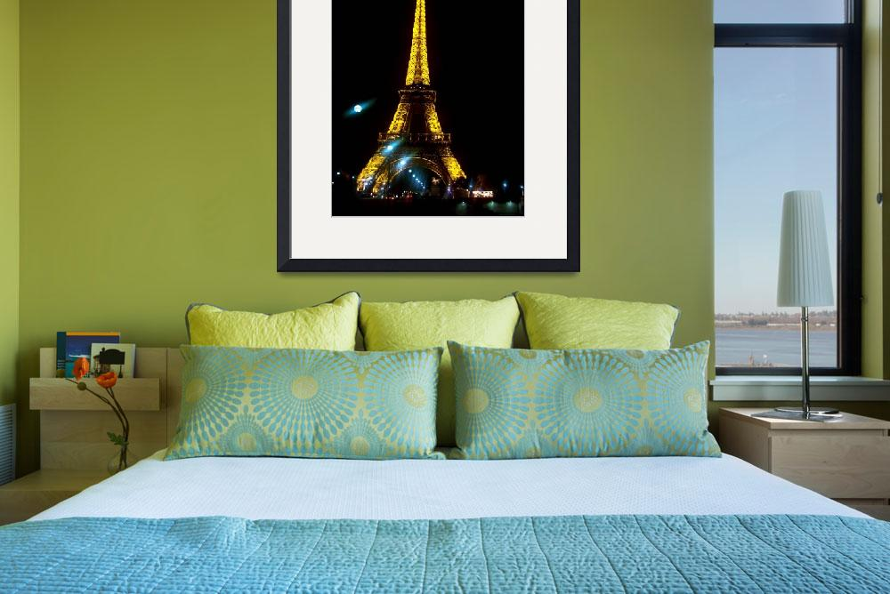 """Eiffel Tower full size&quot  by maryalicefranklin"