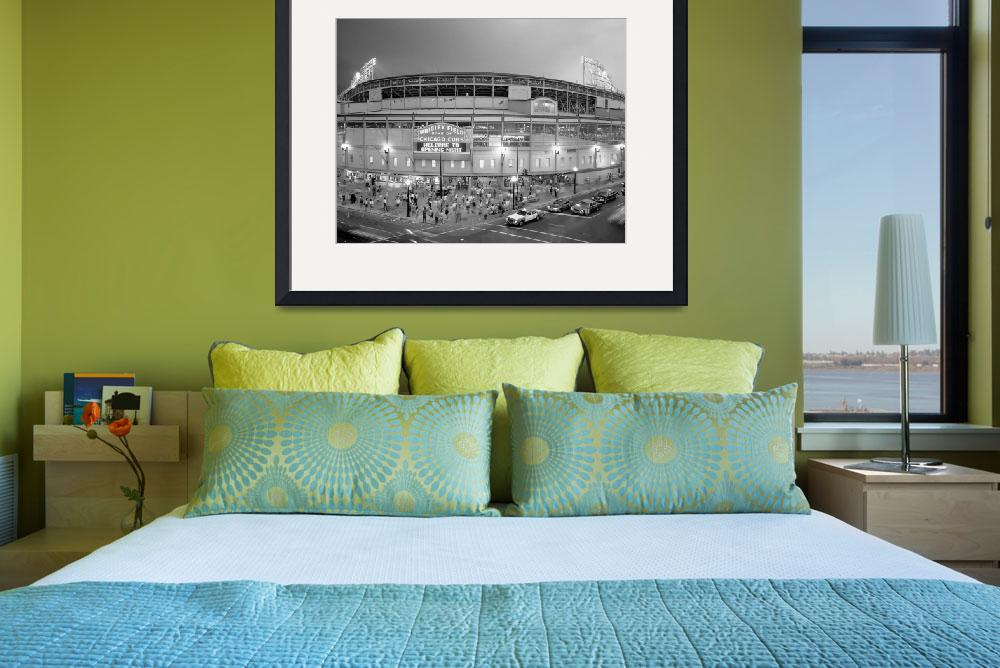 """Wrigley Field, Chicago&quot  by Panoramic_Images"