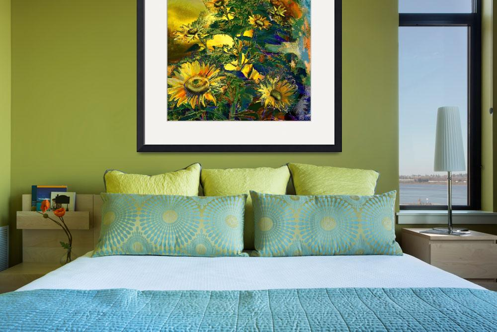 """Sunflowers&quot  (2004) by ArteSigno"