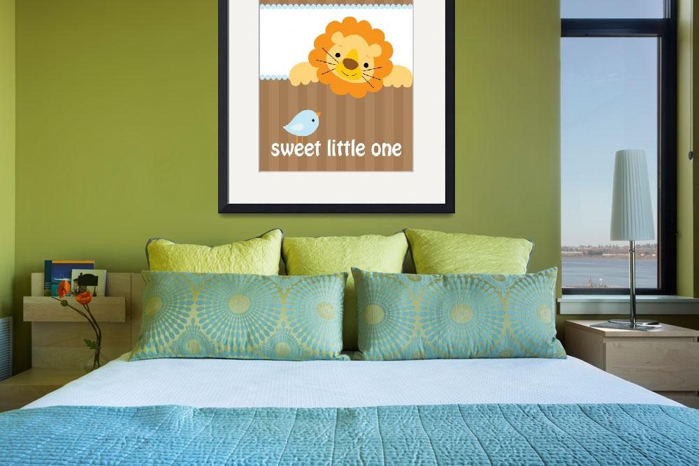 """Sweet Little Lion&quot  (2009) by cocoastudio"