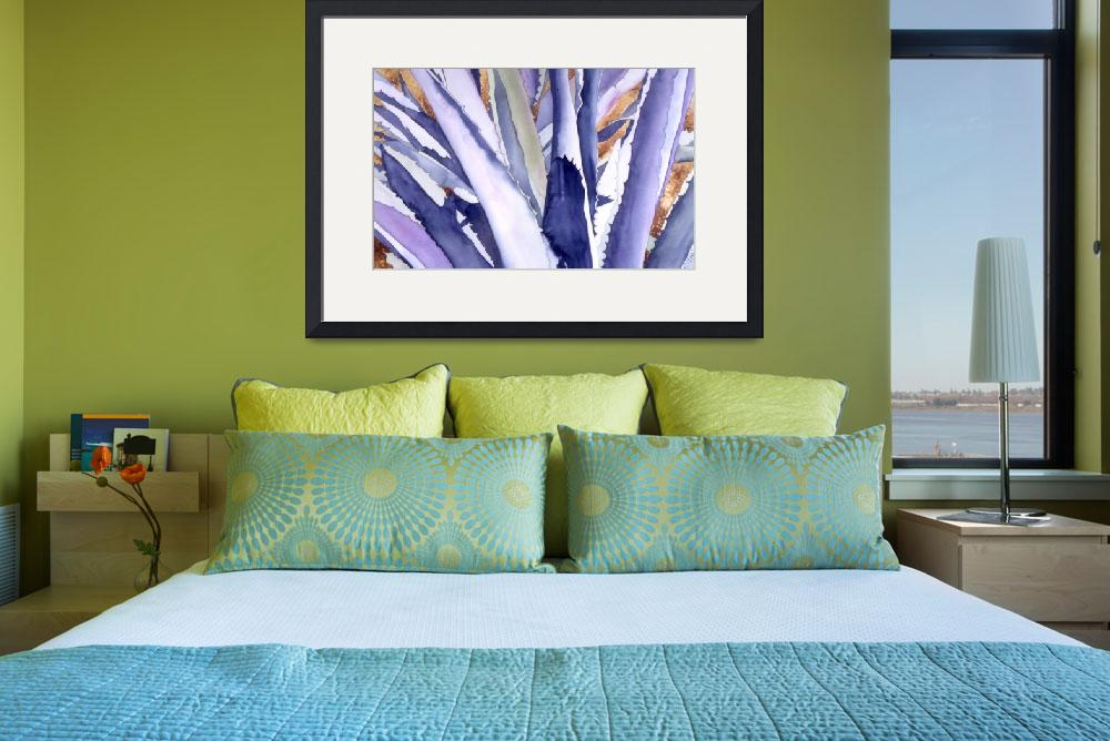 """Agave 4&quot  (2008) by art4fish"