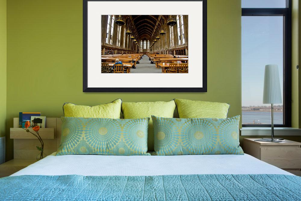"""Suzallo Library Graduate Reading Room&quot  by Vedada"