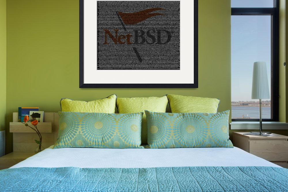 """NetBSD Source Poster&quot  (2010) by 0xfe"