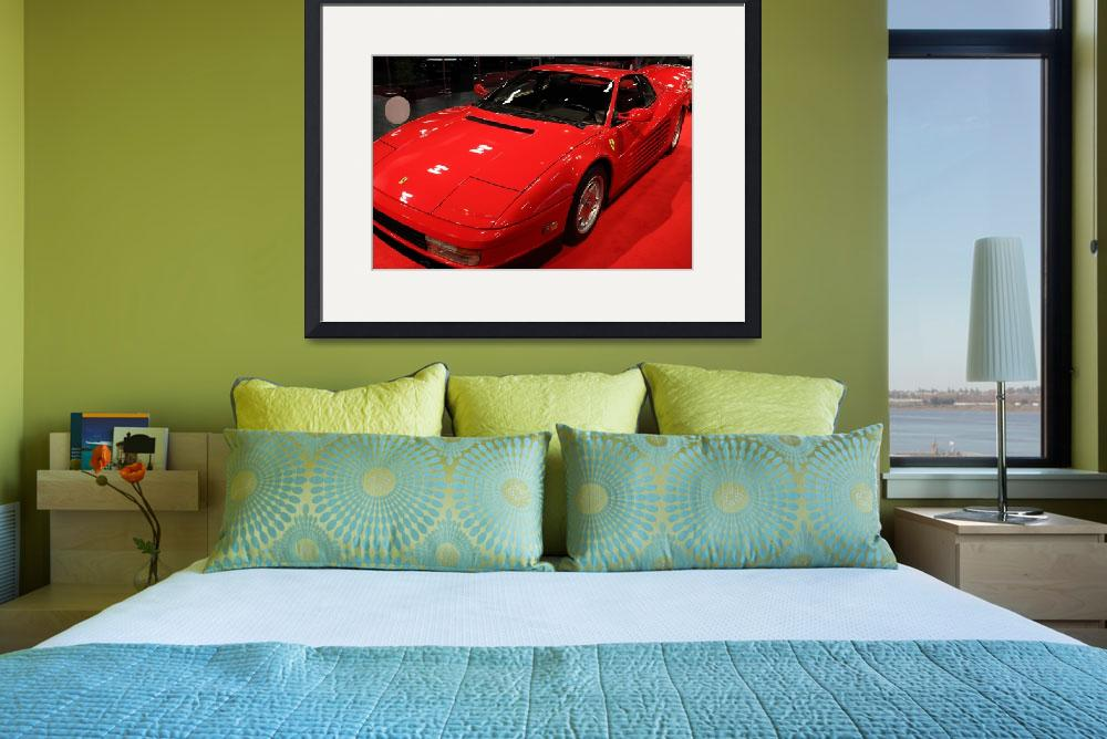 """1986 Ferrari Testarossa 5D19879&quot  by wingsdomain"