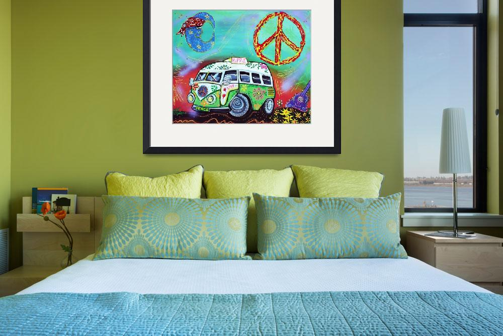 """Hippie Trip&quot  (2015) by ArtPrints"