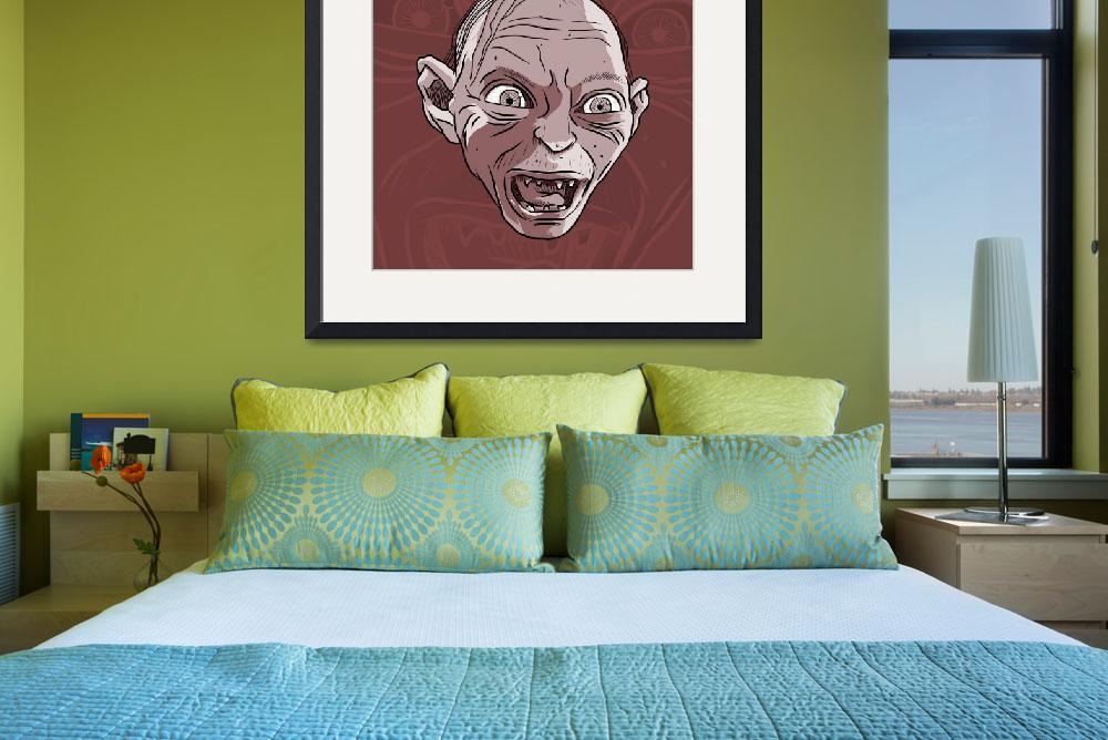 """Gollum - Brown&quot  (2013) by Saviantoni"