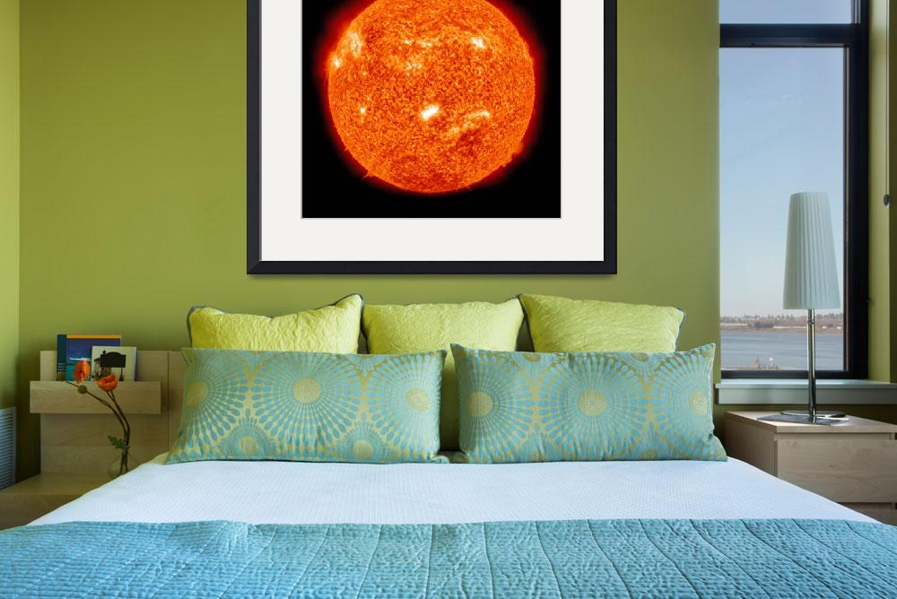 """Solar activity on the Sun&quot  by stocktrekimages"