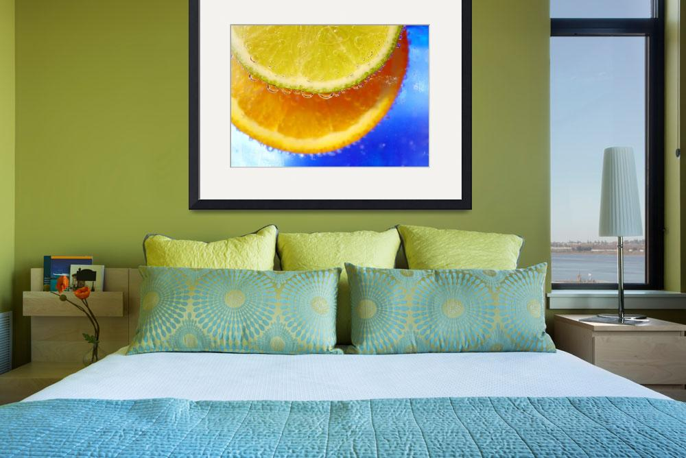 """orange n lime&quot  (2010) by chriscoley"