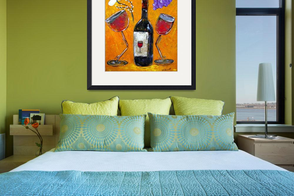"""Wine Affair&quot  (2009) by MaggieBernet"