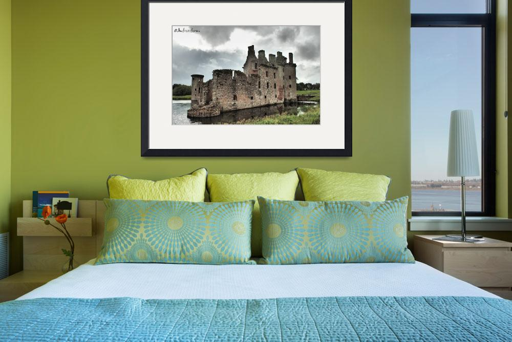"""Caerlaverock Castle&quot  by and979"