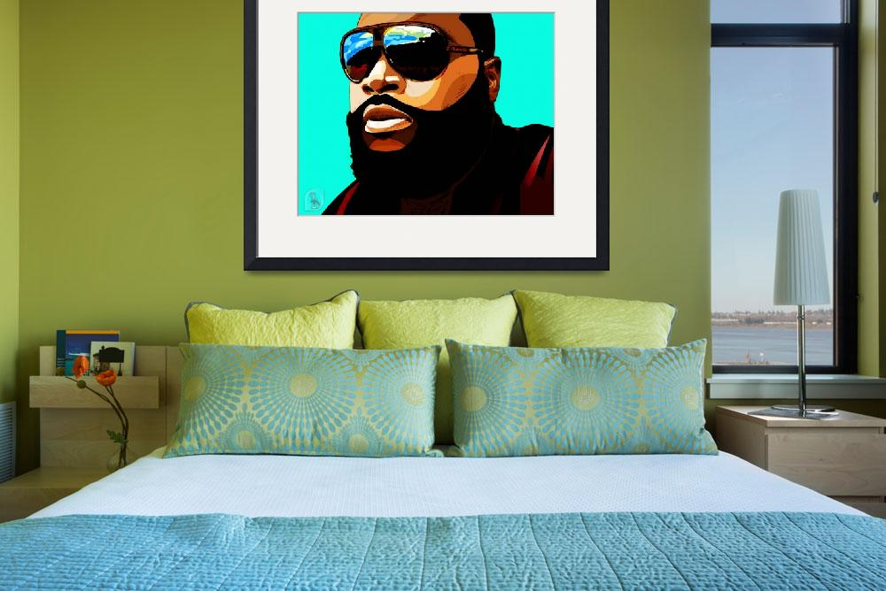 """Rozay&quot  (2012) by D77TheDigArtisT"