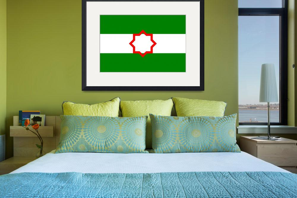 """Andalusia flag&quot  (2011) by tony4urban"