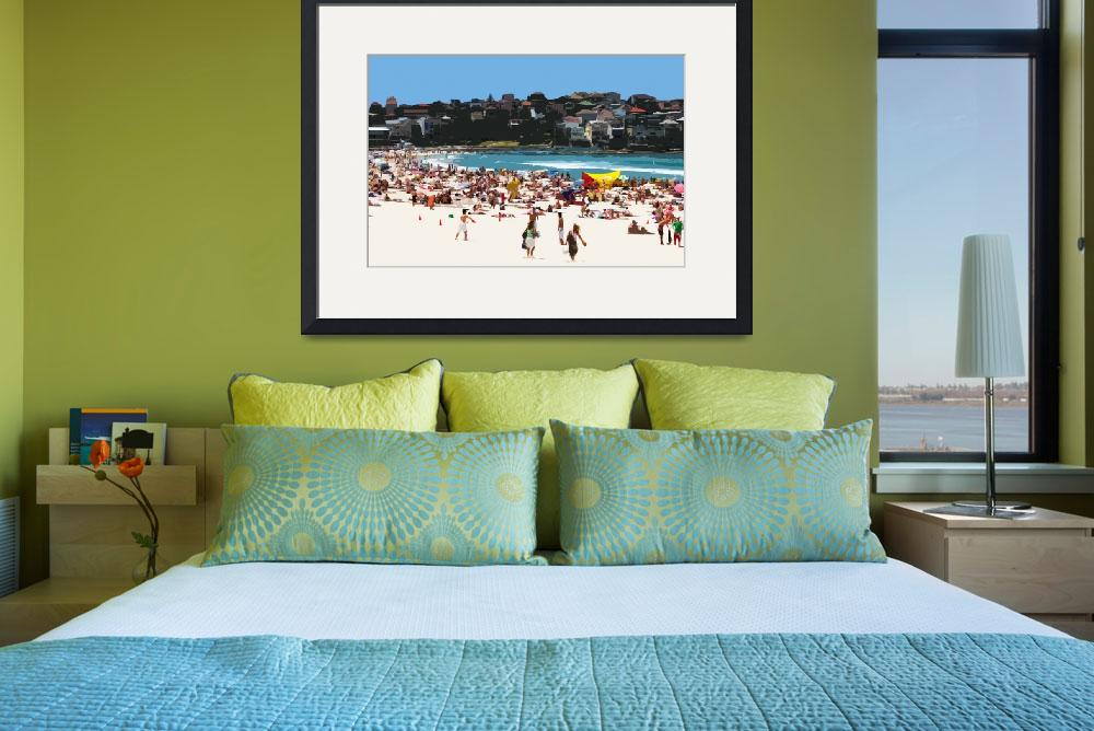 """A Day at the Beach XIII, South Bondi Beach&quot  (2005) by tomhawkins"