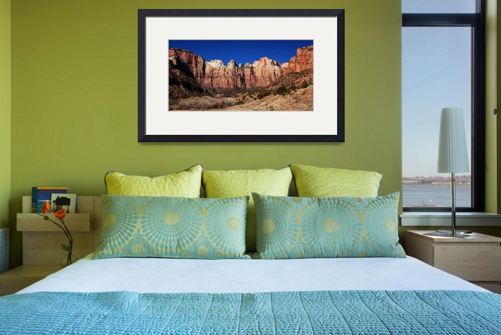 """Zion National Park&quot  (2008) by yeats"