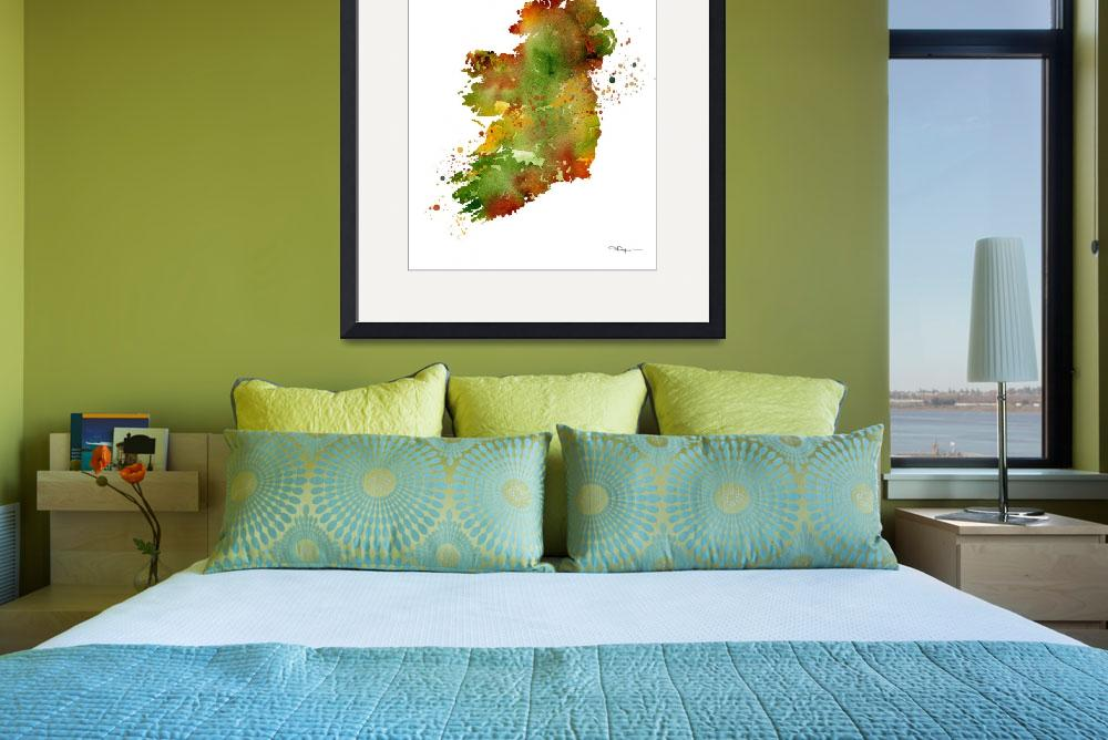 """Ireland&quot  (2015) by k9artgallery"