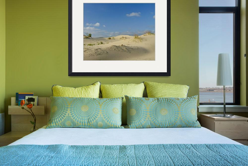 """Sand dunes&quot  (2010) by awsheffield"