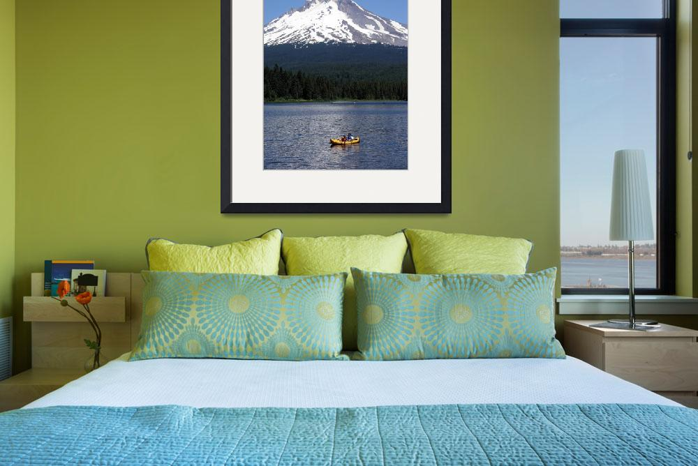 """Turrillium Lake at Mt. Hood Oregon&quot  (2006) by milphog"