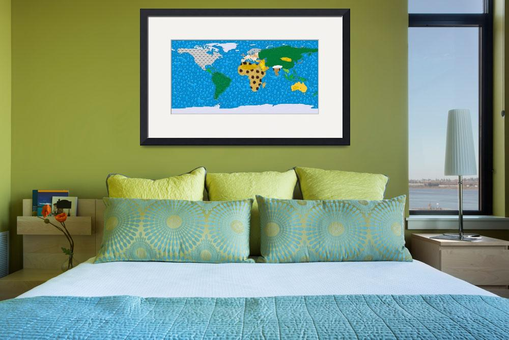 """World Texture Map&quot  (2012) by gsquared"