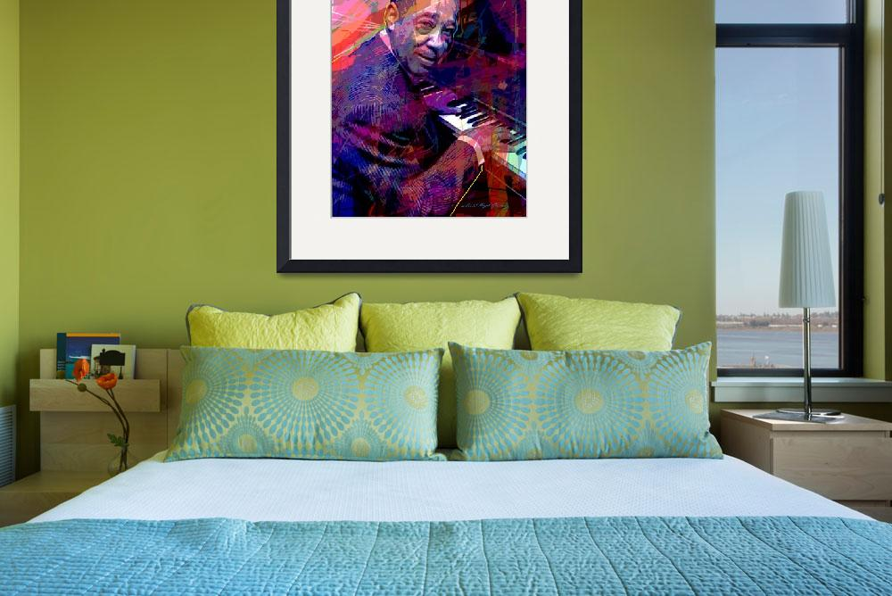 """Duke Ellington At The Piano&quot  (2014) by DavidLloydGlover"