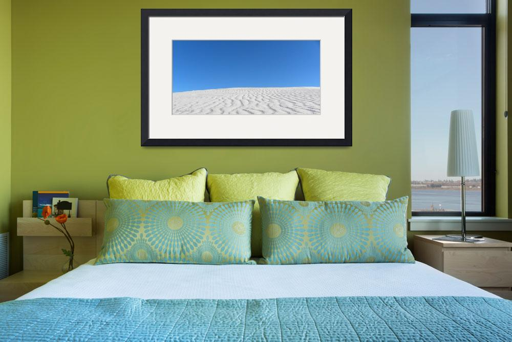 """White Sands Blue Sky&quot  (2010) by anniepics"