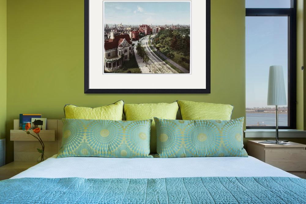"""Vintage Brooklyn NY Photo-Print (1904)&quot  by Alleycatshirts"